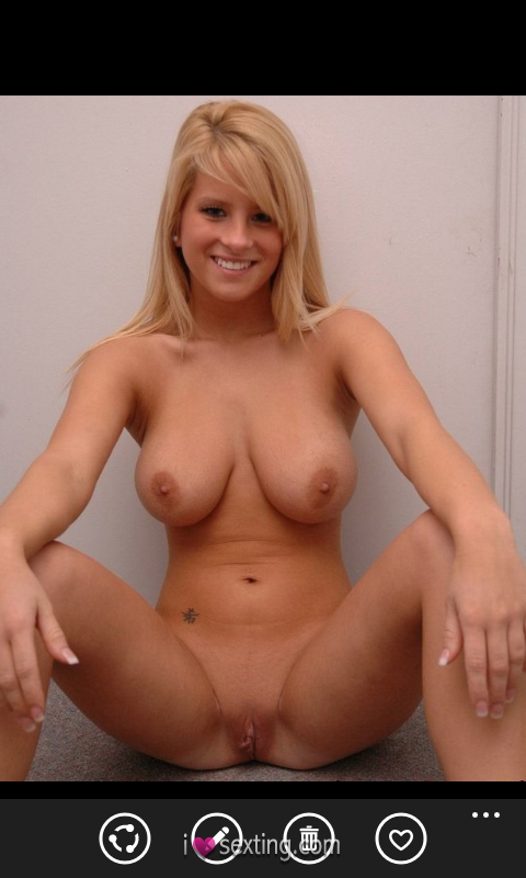 Free Sexting Pic Female White Pussy Tits Blonde
